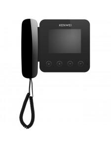 Цветной монитор видеодомофона с трубкой KW-E400FC